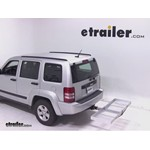 Curt Folding Aluminum Cargo Carrier Review - 2012 Jeep Liberty