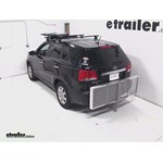 Curt Folding Aluminum Cargo Carrier Review - 2012 Kia Sorento