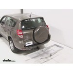 Curt Folding Aluminum Cargo Carrier Review - 2012 Toyota RAV4