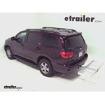 Curt Folding Aluminum Cargo Carrier Review - 2012 Toyota Sequoia