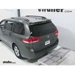 Curt Folding Aluminum Cargo Carrier Review - 2012 Toyota Sienna