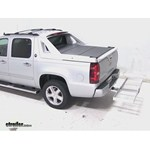 Curt Folding Aluminum Cargo Carrier Review - 2013 Chevrolet Avalanche