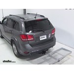 Curt Folding Aluminum Cargo Carrier Review - 2013 Dodge Journey