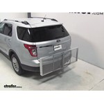 Curt Folding Aluminum Cargo Carrier Review - 2013 Ford Explorer