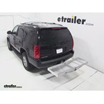 Curt Folding Aluminum Cargo Carrier Review - 2013 GMC Yukon