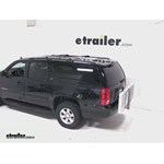 Curt Folding Aluminum Cargo Carrier Review - 2013 GMC Yukon XL