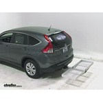 Curt Folding Aluminum Cargo Carrier Review - 2013 Honda CR-V