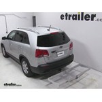 Curt Folding Aluminum Cargo Carrier Review - 2013 Kia Sorento