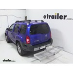 Curt Folding Aluminum Cargo Carrier Review - 2013 Nissan Xterra