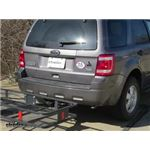 Curt 24x60 Hitch Cargo Carrier Review - 2010 Ford Escape