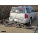 Curt 24x60 Hitch Cargo Carrier Review - 2011 Nissan Armada