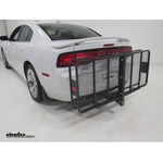 Curt 24x60 Hitch Cargo Carrier Review  - 2012 Dodge Charger