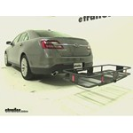 Curt Cargo Carrier Review - 2014 Ford Taurus