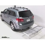 Curt Folding Aluminum Cargo Carrier Review - 2009 Dodge Journey