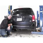 Curt Wiring Harness Installation - 2015 Dodge Grand Caravan