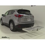 Curt Folding Aluminum Cargo Carrier Review - 2015 Mazda CX-5