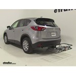 Curt Hitch Cargo Carrier Review - 2015 Mazda CX-5