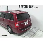Curt Folding Aluminum Cargo Carrier Review - 2013 Chrysler Town and Country