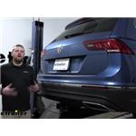Curt Trailer Hitch Installation - 2019 Volkswagen Tiguan