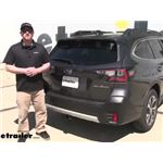 Video install curt class 3 trailer hitch receiver 2020 subaru outback wagon cu89fr