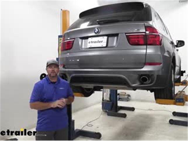 [DIAGRAM_5LK]  Curt Trailer Hitch Installation - 2013 BMW X5 Video | etrailer.com | 2013 Bmw X5 Trailer Wiring |  | etrailer.com