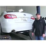 Curt Trailer Hitch Installation - 2016 Subaru Legacy