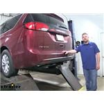 Curt Trailer Hitch Installation - 2019 Chrysler Pacifica