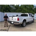 Curt EZr Double Lock Underbed Gooseneck Trailer Hitch Installation - 2010 Ford F-250 and F-350 Super