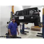 Curt Front Mount Trailer Hitch Installation - 2018 Jeep JL Wrangler