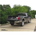 Curt Double Lock Flip and Store Gooseneck Hitch Installation - 2008 Ford F-350