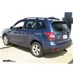 Trailer Hitch Installation - 2014 Subaru Forester - Curt