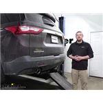 Curt Trailer Hitch Installation - 2020 Chevrolet Traverse