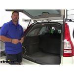 Curt T-Connector Vehicle Wiring Harness Installation - 2011 Honda CR-V