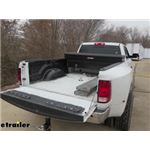 Curt Double Lock Flip and Store Underbed Gooseneck Hitch Installation - 2011 Ram 3500