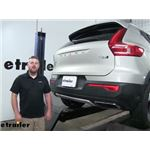2019 Volvo XC40 Trailer Hitch - Draw-Tite