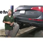 Draw-Tite Max-Frame Trailer Hitch Installation - 2011 Audi Q5