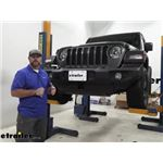 Draw-Tite Front Mount Trailer Hitch Installation - 2018 Jeep JL Wrangler
