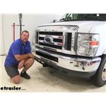 Draw-Tite Front Mount Trailer Hitch Installation - 2015 Coachmen Leprechaun Motorhome