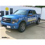 Hide-A-Goose Underbed Gooseneck Trailer Hitch Installation - 2014 Ford F-150