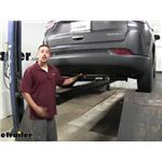 Draw-Tite Max-Frame Trailer Hitch Installation - 2018 Jeep Compass