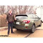 Draw-Tite Max-Frame Trailer Hitch Installation - 2015 Subaru Outback Wagon