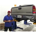 etrailer.com Trailer Hitch Installation - 1999 Chevrolet Silverado