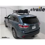 Stallion Roof Basket Review - 2015 Toyota Highlander