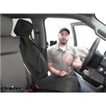 Video install etrailer universal bucket seat cover 2020 ford f 250 super duty e99048