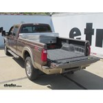 clearance using fifth wheel hitch on 2013 ford f 350 short. Black Bedroom Furniture Sets. Home Design Ideas