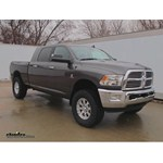 Video install front hitch 2014 ram 2500 65063