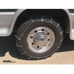 Glacier Cable Snow Tire Chains Review - 1997 Ford Van