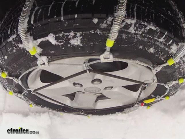 BMW X5 Tire Chains | etrailer.com