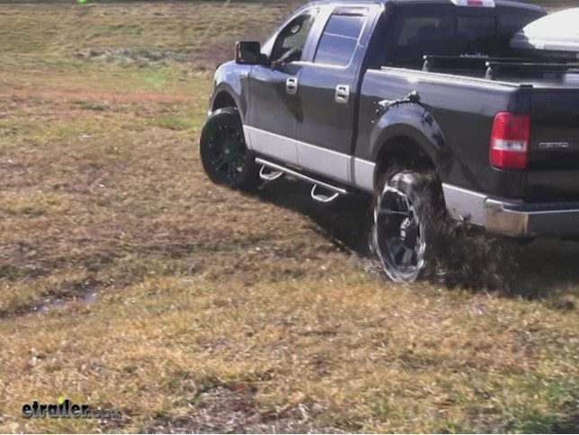 Glacier Square Link Snow Tire Chains Review 2006 Ford F 150 Video