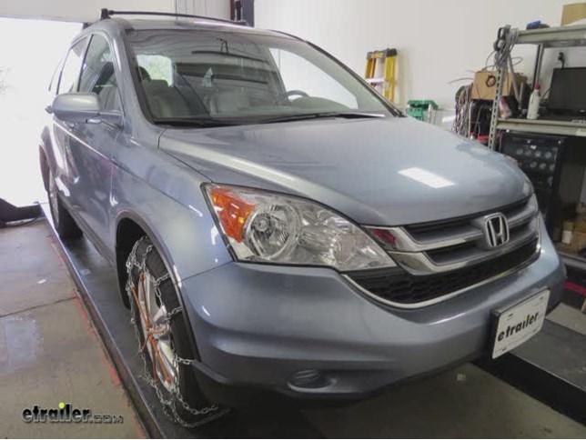 Honda CR-V Tire Chains | etrailer.com